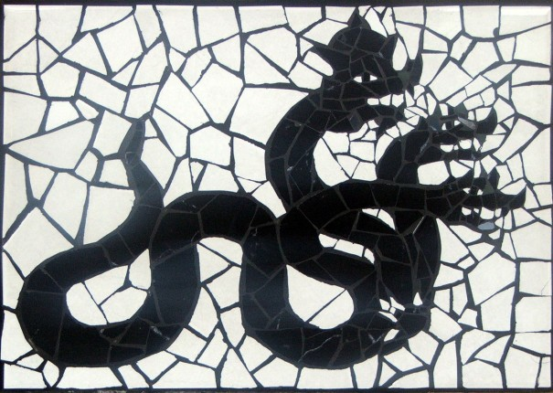 Thai Shadow Puppet - Serpent - The Gallery at Chaloklum - Koh Phangan